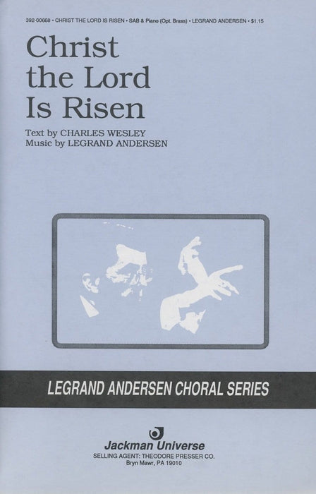 Christ the Lord is Risen - SAB | Sheet Music | Jackman Music