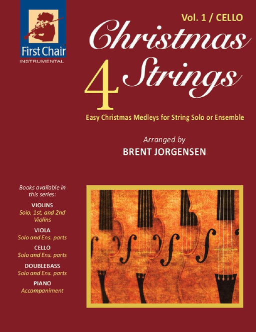 Christmas 4 Strings - Vol.1 - Cello corrected page | Sheet Music | Jackman Music