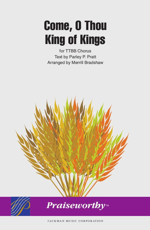 Come O Thou King of Kings - TTBB a cappella | Sheet Music | Jackman Music