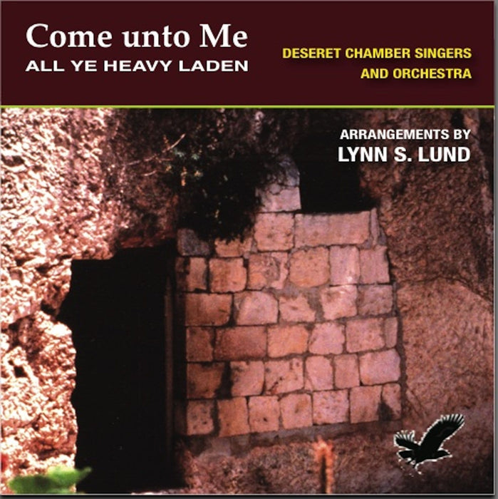 Come unto Me All Ye Heavy Laden - CD | Sheet Music | Jackman Music