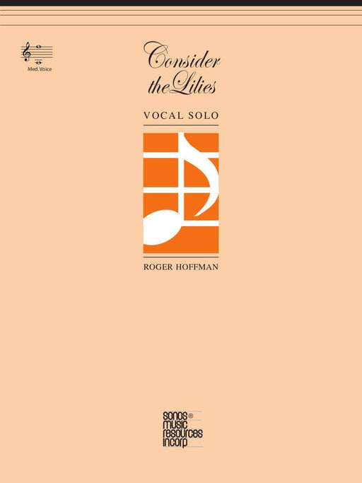 Consider the Lilies - Vocal Solo - Medium | Sheet Music | Jackman Music