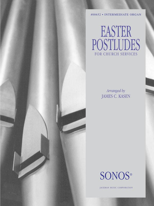 Easter Postludes - Organ | Sheet Music | Jackman Music