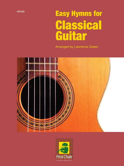 Easy Hymns for Classical Guitar (Digital Download)
