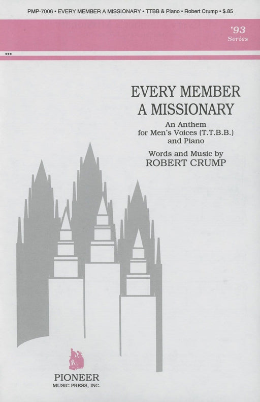 Every Member a Missionary - TTBB | Sheet Music | Jackman Music