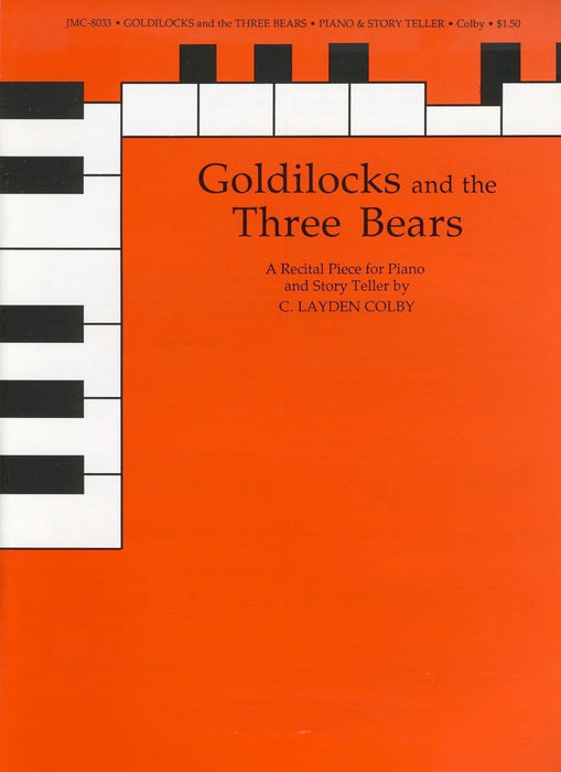 Goldilocks and the Three Bears - Easy Piano & Story Teller