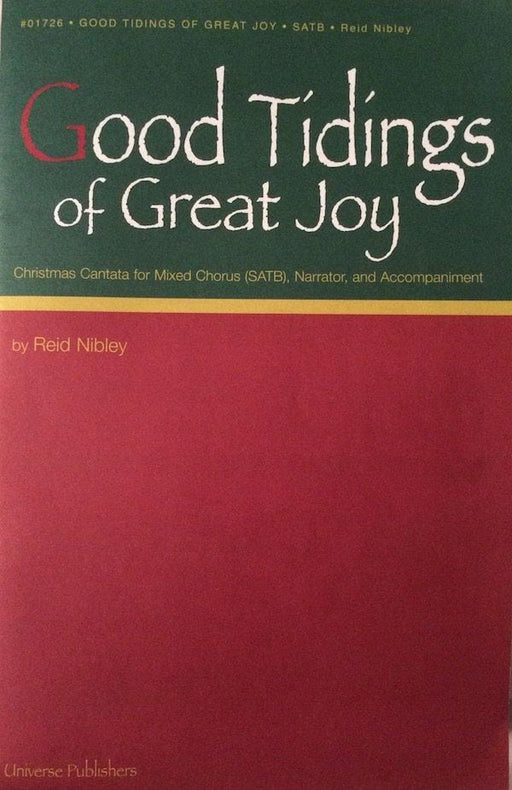 Good Tidings of Great Joy - Cantata | Sheet Music | Jackman Music
