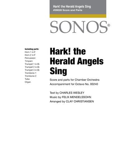 Hark! The Herald Angels Sing - Score and Parts