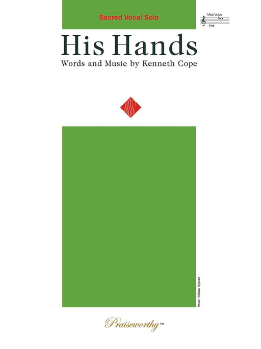 His Hands - Vocal Solo | Sheet Music | Jackman Music