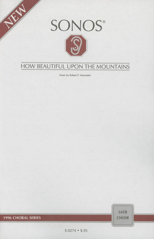How Beautiful Upon the Mountains - SATB