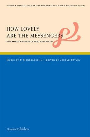 How Lovely Are the Messengers - SATB | Sheet Music | Jackman Music