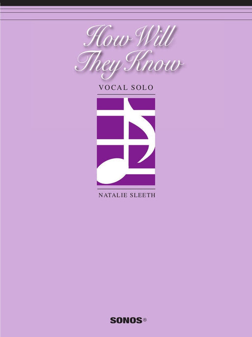 How Will They Know - Vocal Solo | Sheet Music | Jackman Music