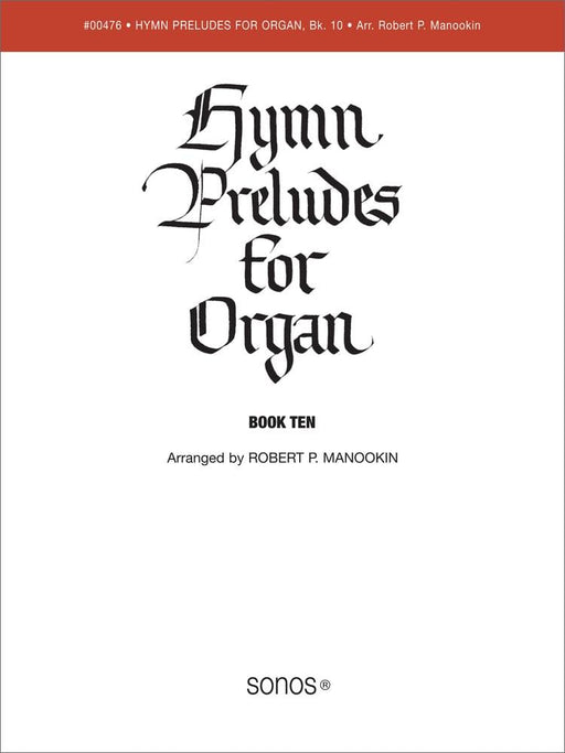 Hymn Preludes for Organ - Book 10 | Sheet Music | Jackman Music