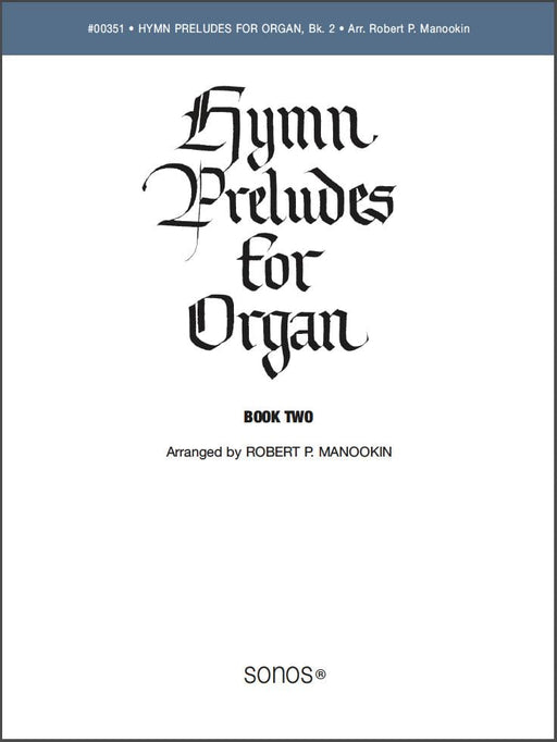 Hymn Preludes for Organ - Book 2 | Sheet Music | Jackman Music