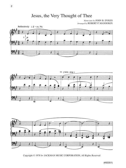 Hymn Preludes for Organ - Book 2