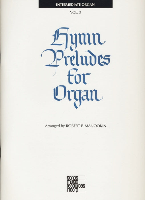 Hymn Preludes for Organ - Book 3 | Sheet Music | Jackman Music