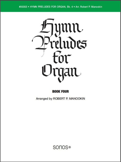 Hymn Preludes for Organ - Book 4 | Sheet Music | Jackman Music