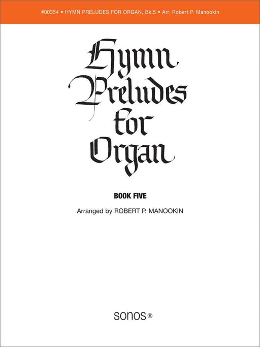 Hymn Preludes for Organ - Book 5 | Sheet Music | Jackman Music