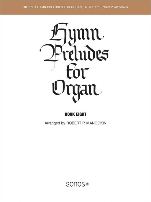 Hymn Preludes for Organ - Book 8 | Sheet Music | Jackman Music