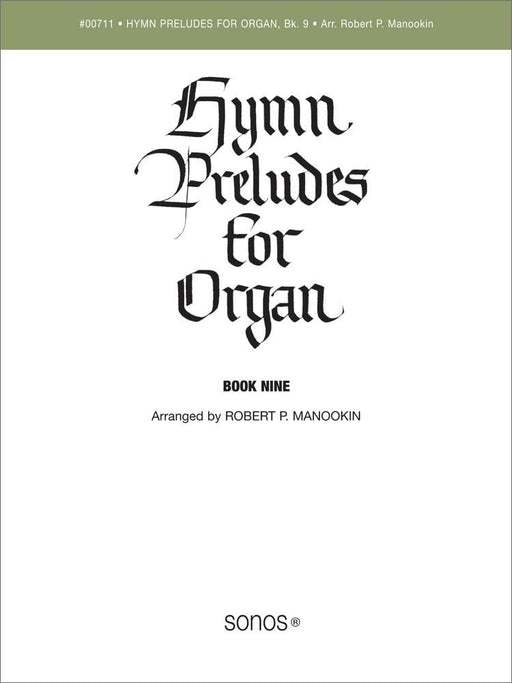 Hymn Preludes for Organ - Book 9 | Sheet Music | Jackman Music