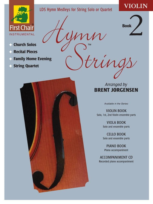 Hymn Strings Book 2 - Violin | Sheet Music | Jackman Music