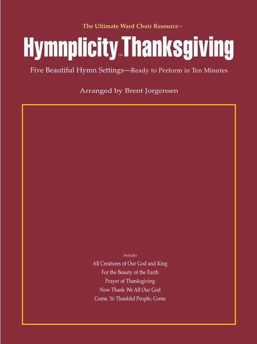 Hymnplicity Thanksgiving | Sheet Music | Jackman Music