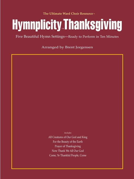 Hymnplicity Thanksgiving - full audio accompaniment