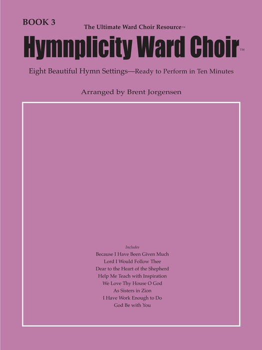 Hymnplicity Ward Choir - Book 3