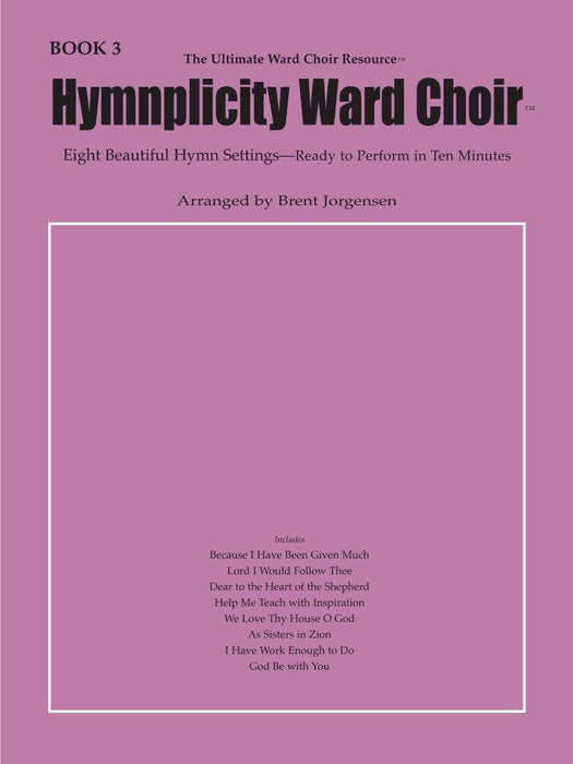 Hymnplicity Ward Choir - Book 3 - full audio accompaniment
