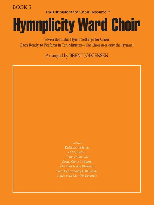 Hymnplicity Ward Choir - Book 5 | Sheet Music | Jackman Music