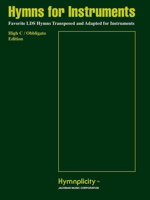 Hymns for Instruments - High C / Obbligato