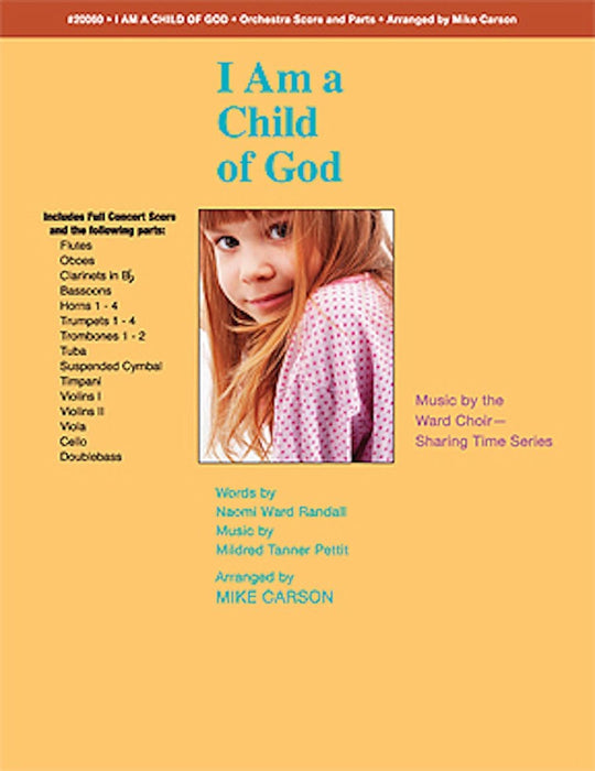I Am a Child of God - Orchestration