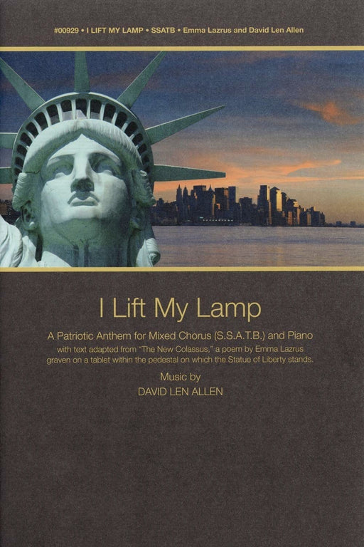 I Lift My Lamp - SSATB