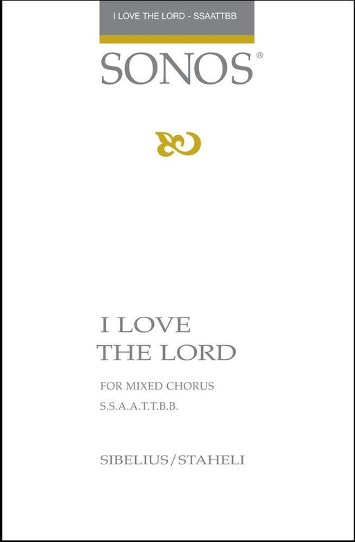 I Love the Lord - SSAATTBB - a cappella | Sheet Music | Jackman Music