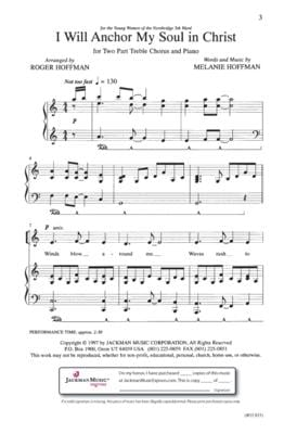 I Will Anchor My Soul In Christ Sa | Sheet Music | Jackman Music