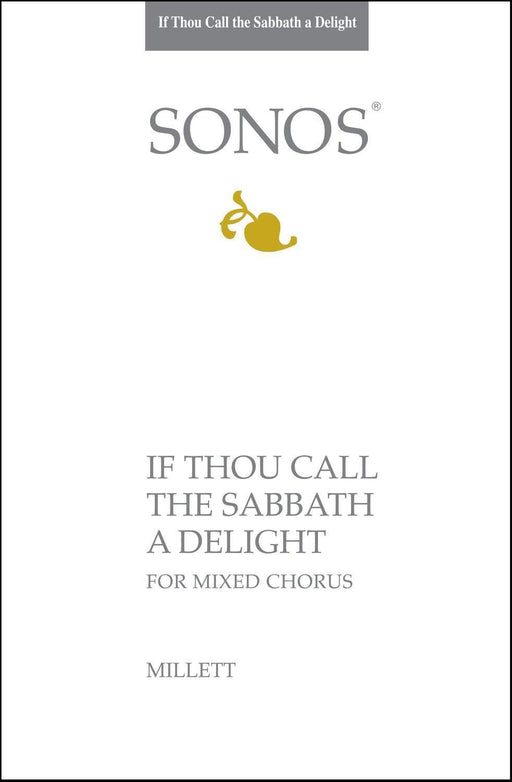 If Thou Call the Sabbath a Delight - SATB (Digital Download)