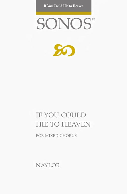 If You Could Hie to Heaven - SATB | Sheet Music | Jackman Music