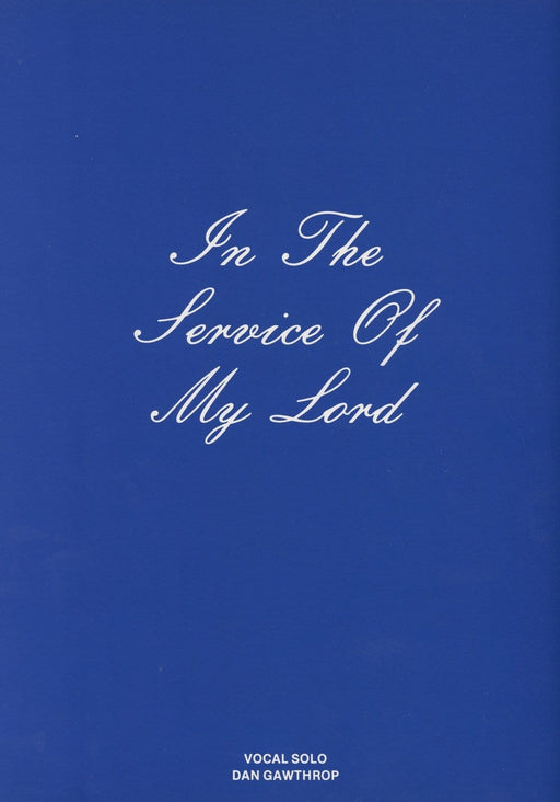 In the Service of My Lord - Vocal Solo | Sheet Music | Jackman Music