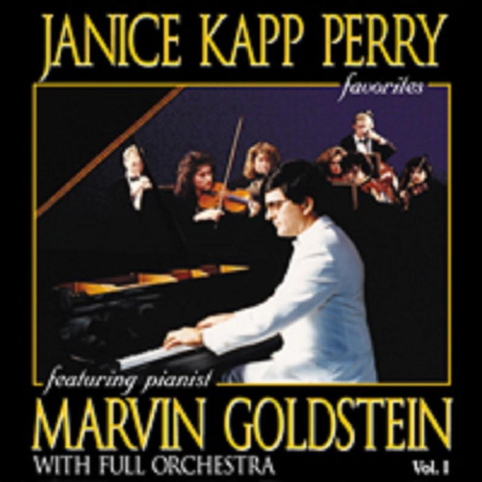 Janice Kapp Perry Favorites Featuring Marvin Goldstein - Vol 1 - piano book