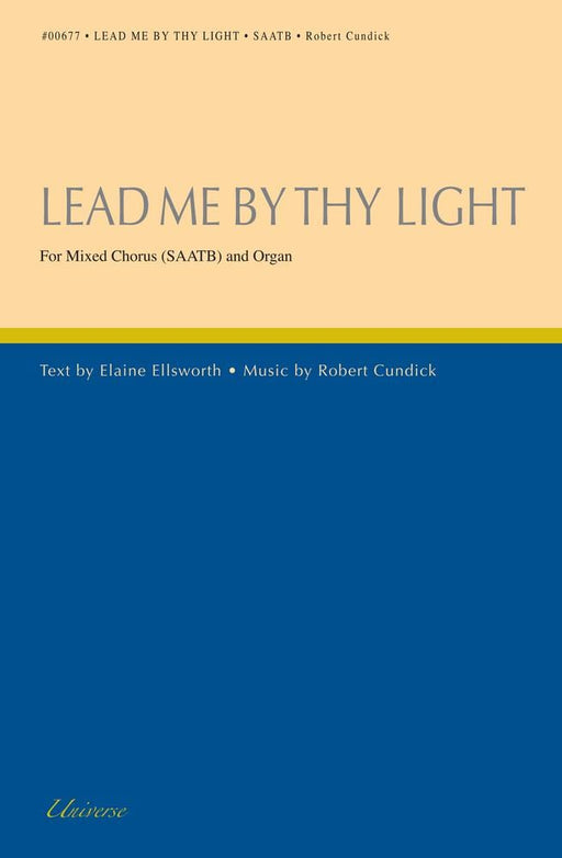 Lead Me By Thy Light - SAATB | Sheet Music | Jackman Music