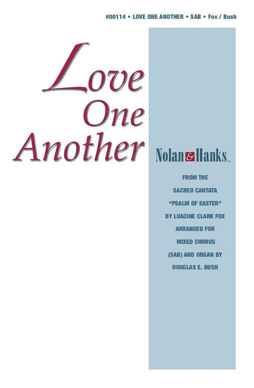 Love One Another - SAB and Organ