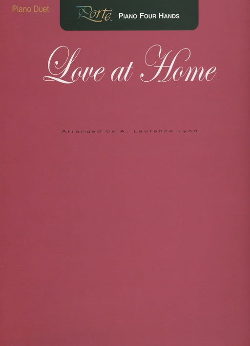 Love at Home - Piano Duet | Sheet Music | Jackman Music