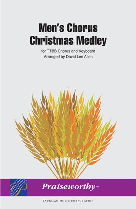 Men's Chorus Christmas Medley - TTBB (Digital Download) | Sheet Music | Jackman Music