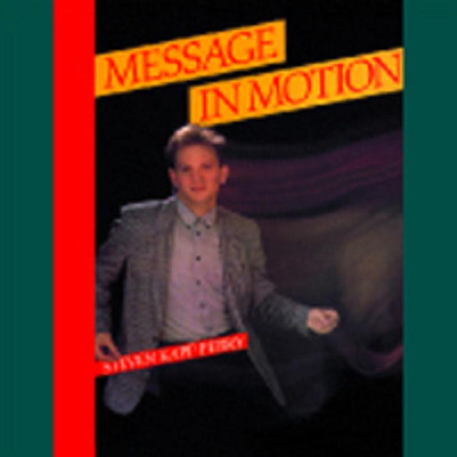 Message in Motion - songbook | Sheet Music | Jackman Music