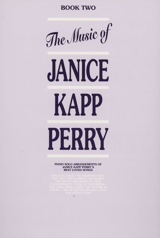 Music of Janice Kapp Perry  - Book  2 - Piano Solos | Sheet Music | Jackman Music