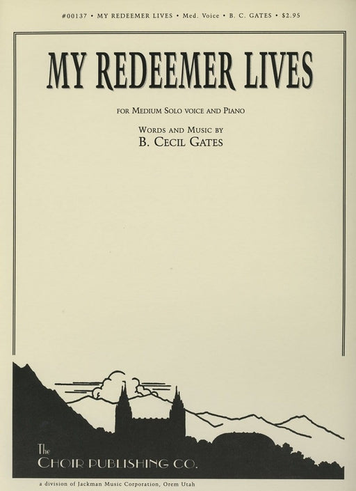 My Redeemer Lives - Vocal Solo | Sheet Music | Jackman Music