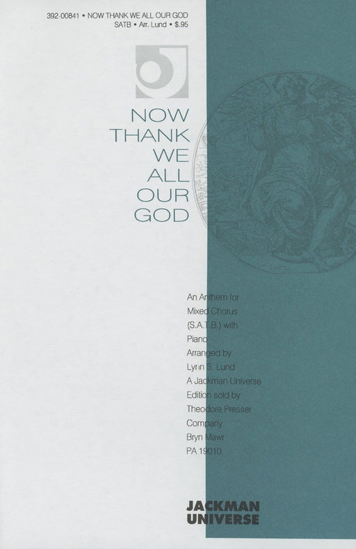 Now Thank We All Our God - SATB | Sheet Music | Jackman Music