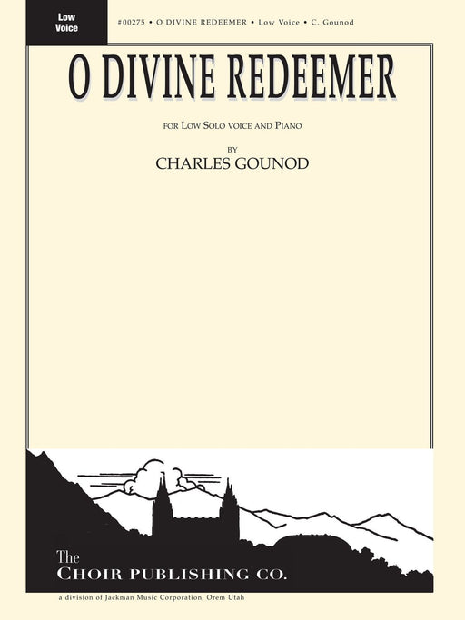 O Divine Redeemer - Vocal Solo Low | Sheet Music | Jackman Music