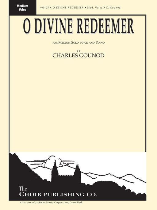 O Divine Redeemer - Vocal Solo Med | Sheet Music | Jackman Music