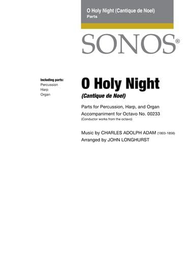 O Holy Night - Instrumental Parts
