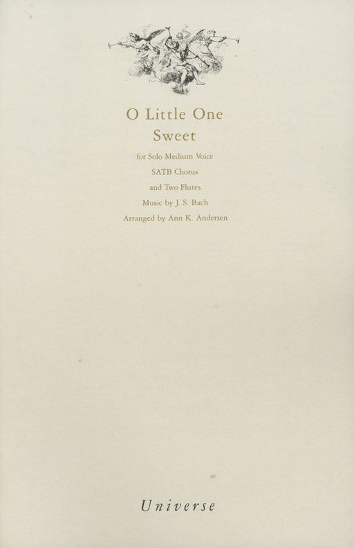 O Little One Sweet - SATB | Sheet Music | Jackman Music